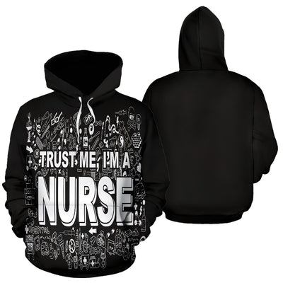 I'm a Nurse All Over Hoodie