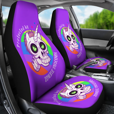 Zombie Unicorn Car Seat Covers