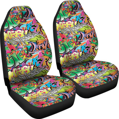 Car Seat Cover Grafitti Car Seat Covers