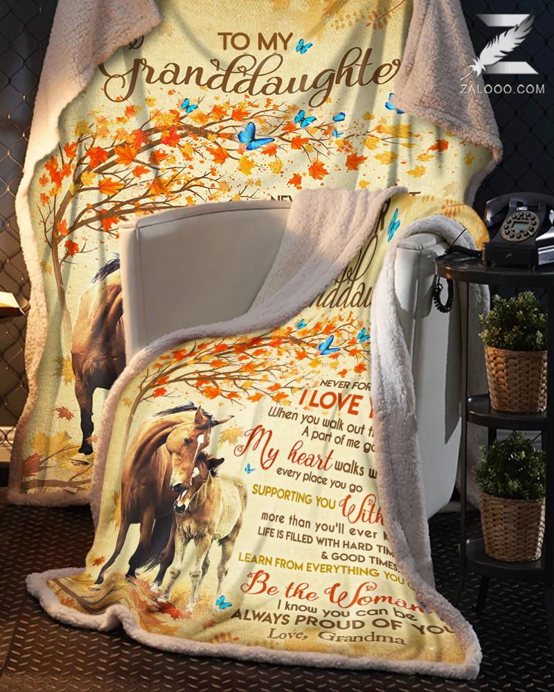 Custom For Granddaughter From Grandma - Horse - Be The Woman I Know You Can Be - 1