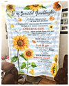 SUNFLOWER - Granddaughter Grandpa - Remember to be Awesome - 1