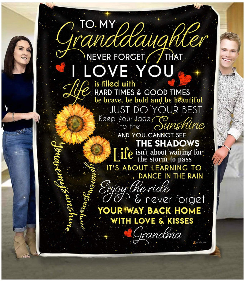 Granddaughter Grandma - You are my sunshine - 1