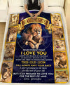 Personalized LION - Granddaughter Grandpa - This Old Lion Will Always Have Your Back - 1