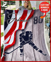 Christmas Gift - Custom HOCKEY - Flag - 1