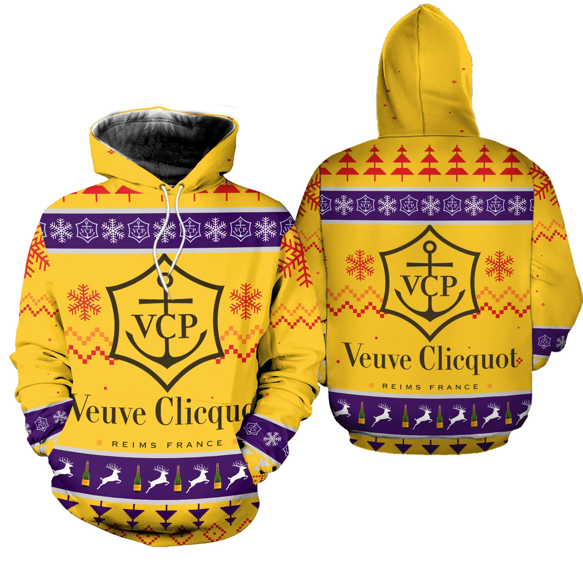 Ugly Christmas Sweatshirt Hoodie All Over Printed PF201