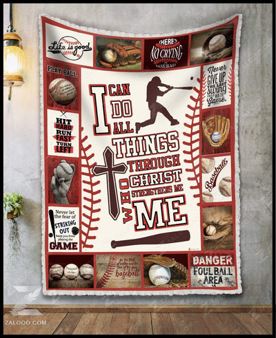 Baseball - I can do all things through Christ - 3