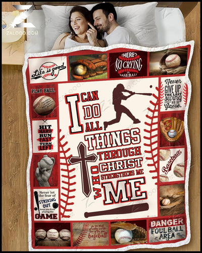 Baseball - I can do all things through Christ - 5