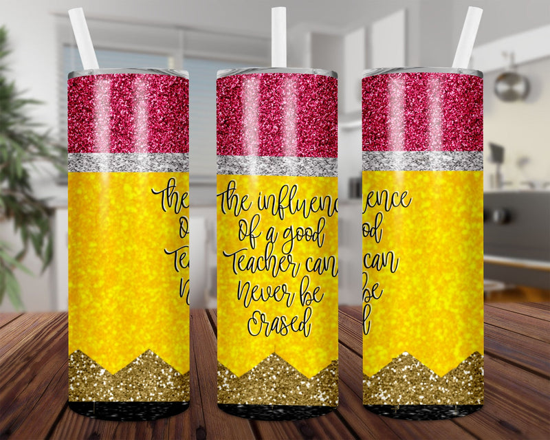 The influence of a good teacher Skinny Tumbler TBL131