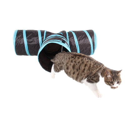 Pet cat Tunnel 3 WAY Y Shape Foldable Cat Toys  Interactive