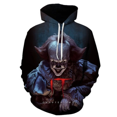 Halloween Pennywise Movie 3D All Over Hoodie PF100