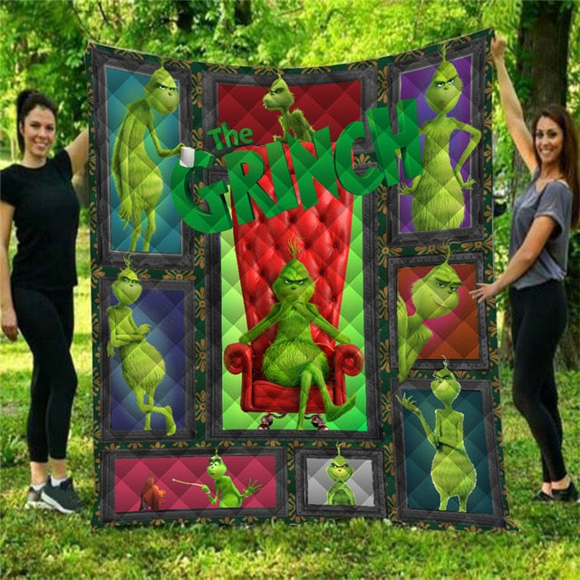 How the Grinch Stole Christmas Quilt EP368