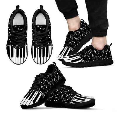 Music Note Prints Women Sneakers
