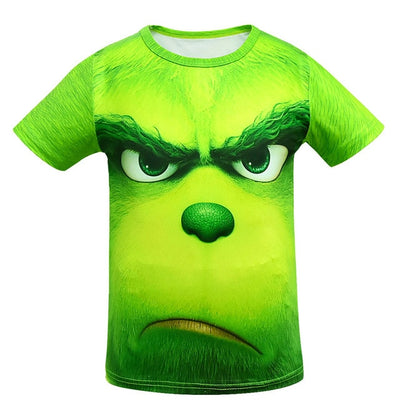 The Grinch Full Face All Over Print For Children