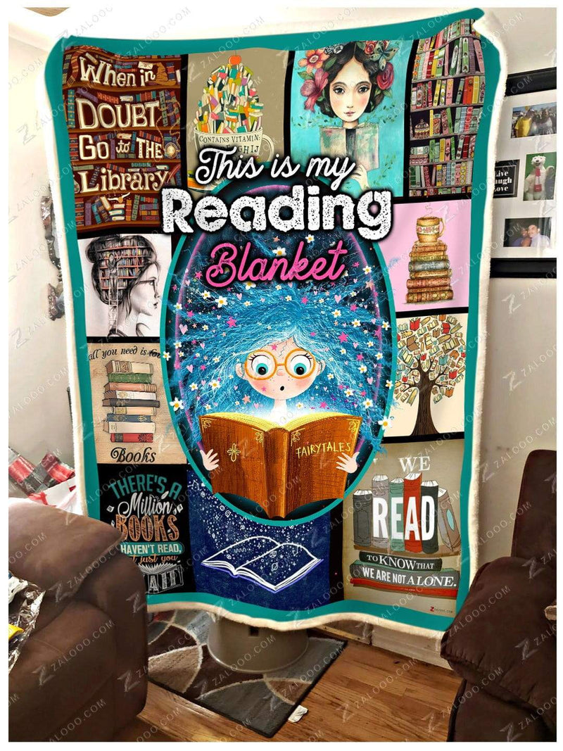READ - This is my Reading Quilt Blanket EP1054