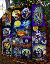 The nightmare before christmas jack and sally Quilt Blanket EP241