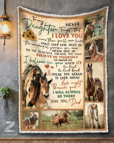 Horse - To My Daughter Dad - Ill Always Be There - 1