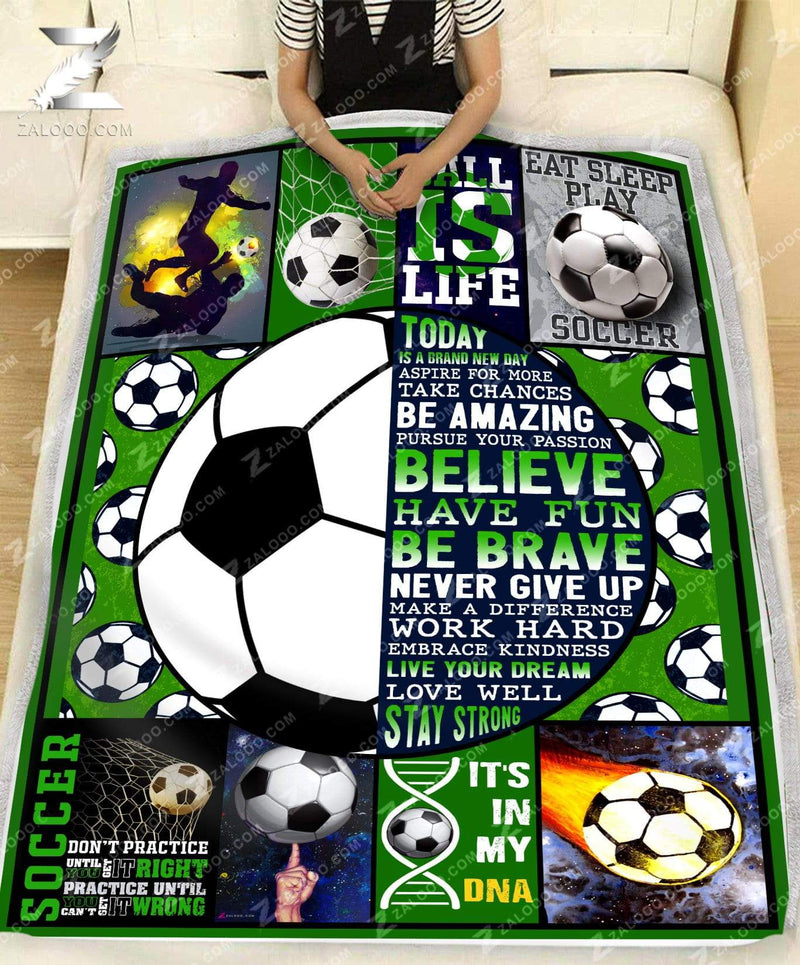 Birthday Gift - SOCCER - Today Is A Brand New Day - 1