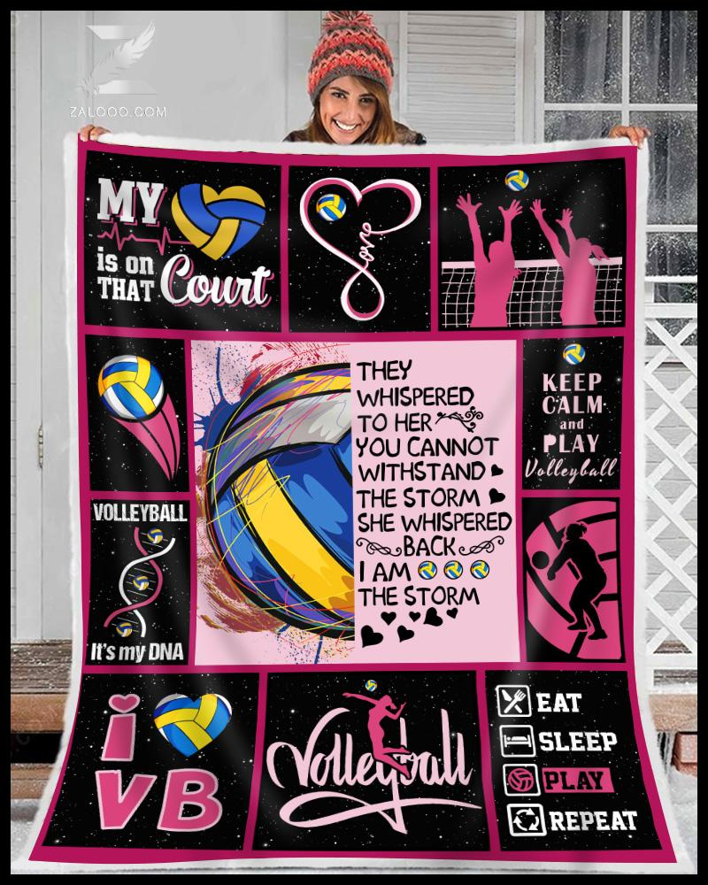 Volleyball - They whisper Quilt Blanket EP1872