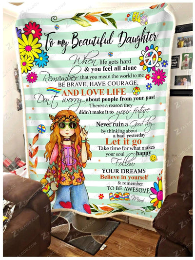 HIPPIE - DAUGHTER - Remember to be awesome Blue - 2
