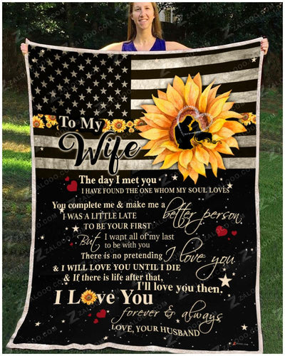 SUNFLOWER - To my Wife - I will love you until I die - 1