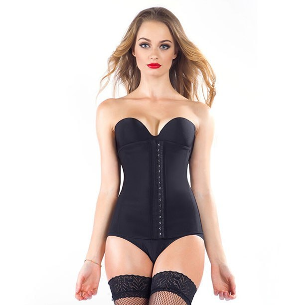 Black Latex Waist Shaper