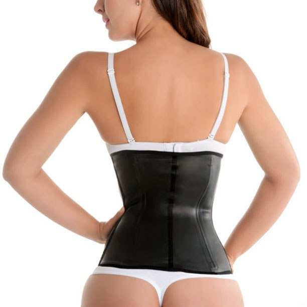 Luxury Classic Black Latex Waist Shaper