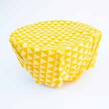 Load image into Gallery viewer, Natural Beeswax Wraps (S,M,L set)