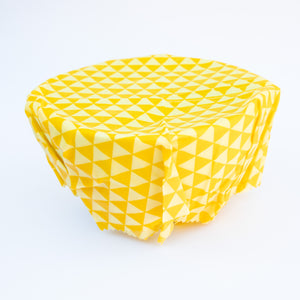 Natural Beeswax Wraps (S,M,L set)