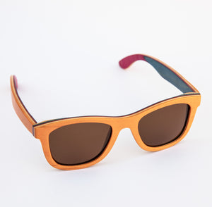 Polarised Bamboo Sunglasses