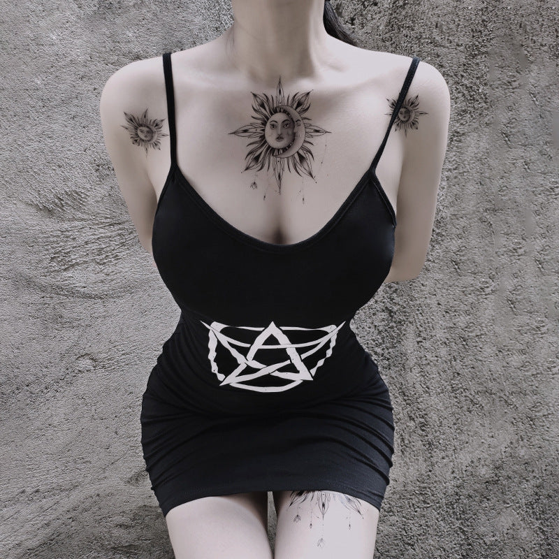 Dark Ritual Mini Dress