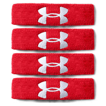 "Under Armour Texas Tech 1"" Performance Wristband 4-Pack"