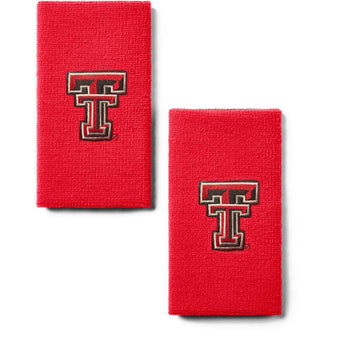 "Under Armour Texas Tech 6"" Performance Wristband 2-Pack"