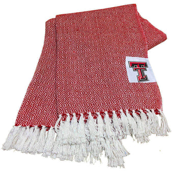 Texas Tech Farmhouse Throw Blanket