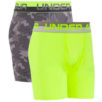 Youth Under Armour Camo Boxer 2-Pack