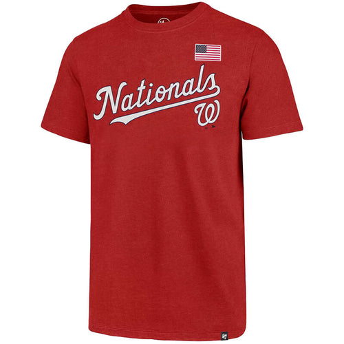 Adult '47 Brand Washington Nationals Club S/S Tee