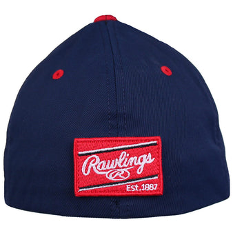 Adult Black Clover + Rawlings USA Fitted Cap