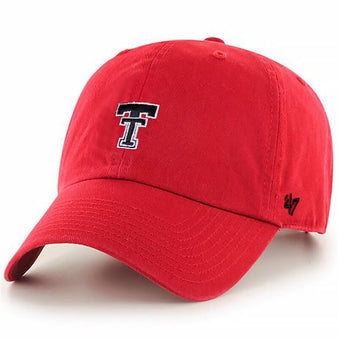 Adult '47 Brand Texas Tech Base Runner Cap