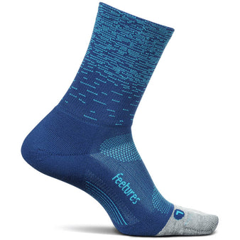 Adult Feetures Elite Light Cushion Mini Crew Sock