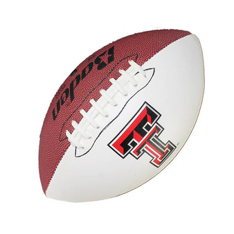 Texas Tech Autograph Football