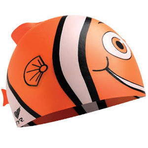 TYR Happy Fish Junior Swim Cap