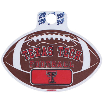 Blue 84 Texas Tech Old Guard Football Sticker