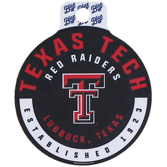 Blue 84 Texas Tech Run & Hide Sticker