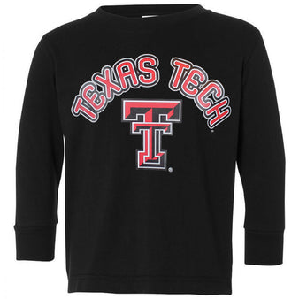 Toddler CSC Texas Tech Arched L/S Tee