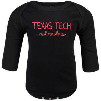 Infant CSC Texas Tech Red Raiders L/S Onesie
