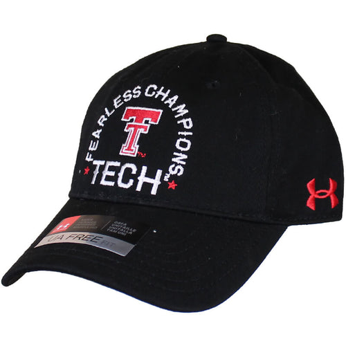 Men's Under Armour Texas Tech Throwback Fearless Champions Adjustable Cap