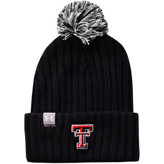 Adult Under Armour Texas Tech Fundamental Beanie