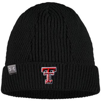Adult Under Armour Texas Tech Cuffed Beanie