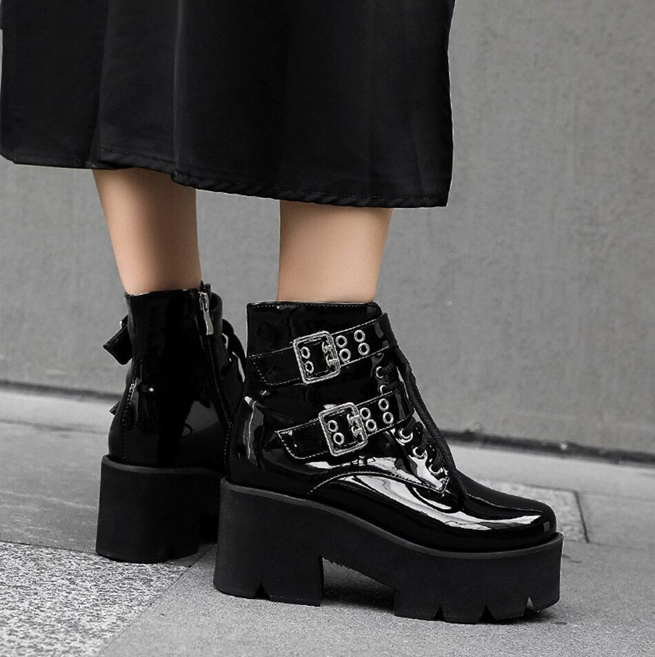 Wicked Energy Platform Boots