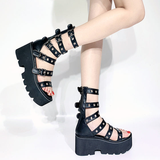 Wicked Warrior Gladiator Sandals