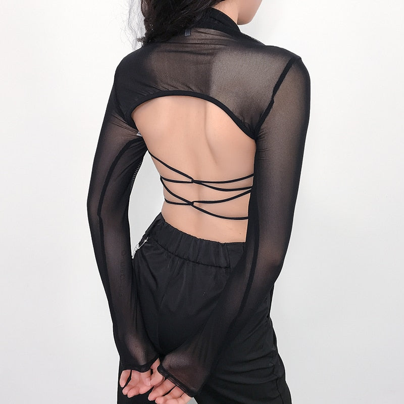 Chained Sheer Shrug